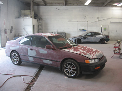 montclair prepped cars auto body paint collision